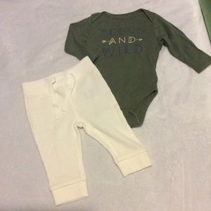 Gender neutral old navy young and wild outfit